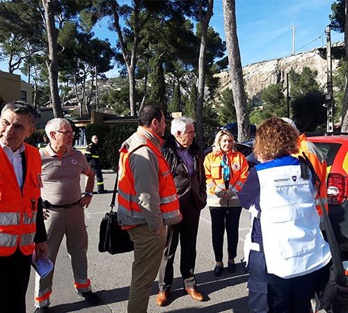 La Croix-Rouge française a assuré l'accueil, l'animation et le suivi médical des rapatriés de Chine au sein du centre de confinement mis en place à Carry-le-Rouet (Bouches-du-Rhône).